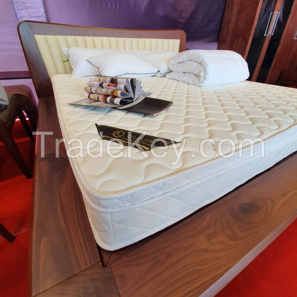 Promotional price pocket spring mattress with topper