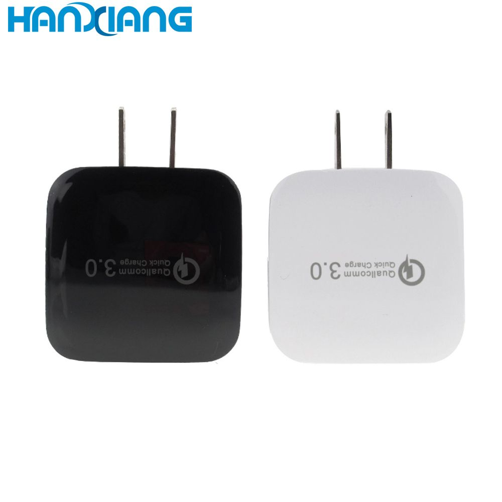 Mobile Phone Accessories Quick charge 3.0 18w single port usb wall charger for iphone 7 plus