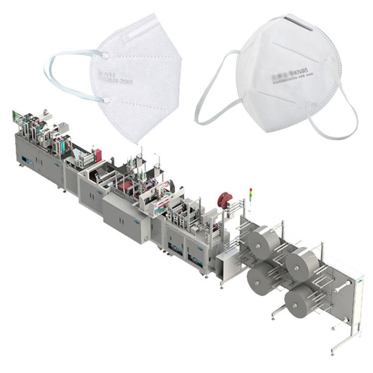 Automatic KN95 N95 Face Mask Making Machine