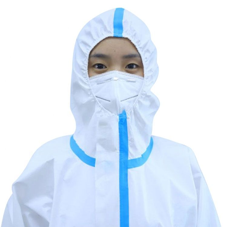 Medical Disposable Isolation Gown Non Woven Protective Clothing Protective Gowns