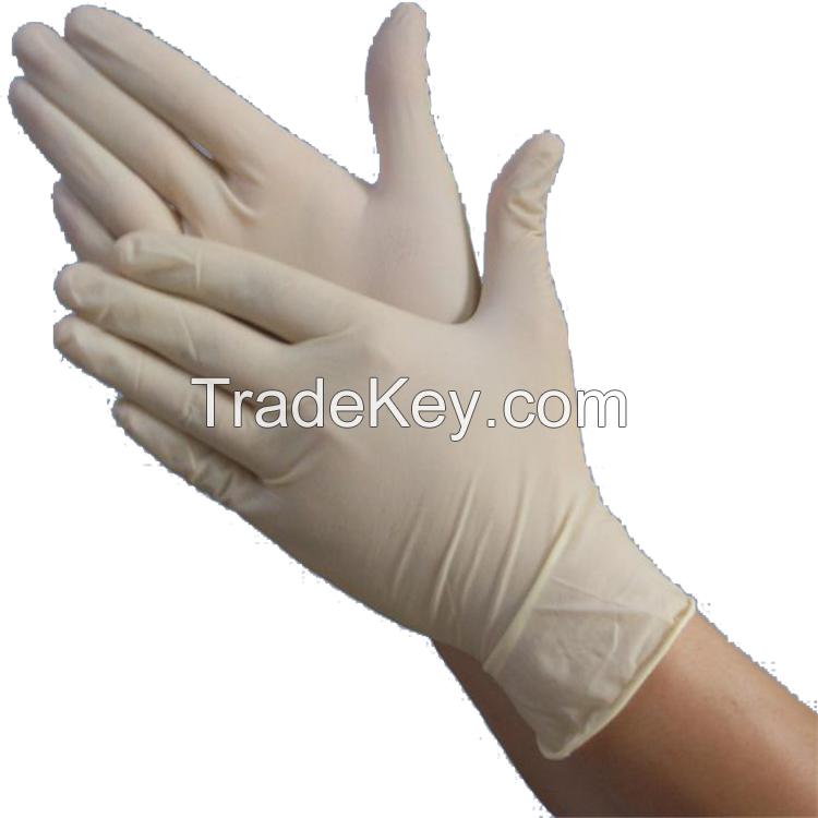 Good quality disposable latex examination glove nitrile glove