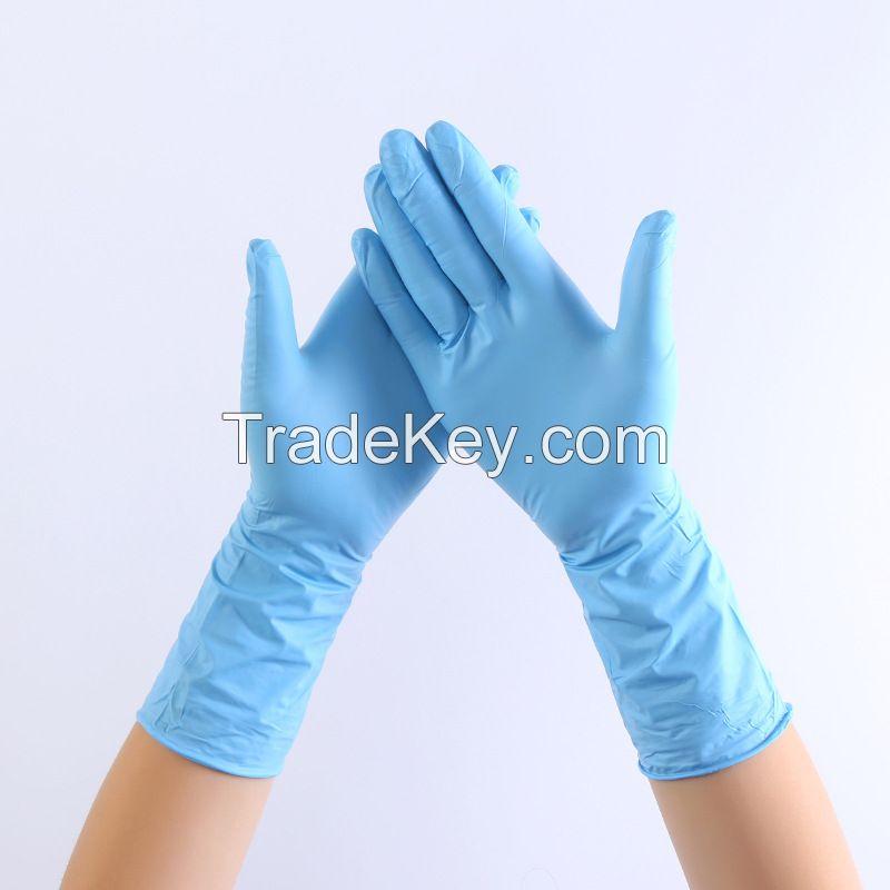 Nitrile Gloves Disposable Powder Free Latex Free Medical Examination PVC Vinyl Gloves