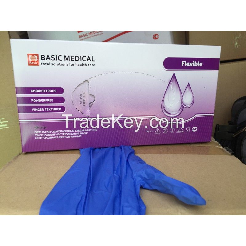 Latex Examination Gloves/Nitrile Gloves