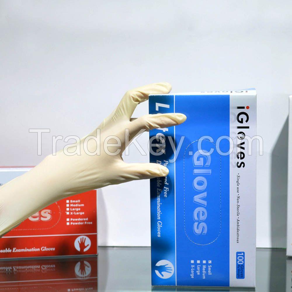 Medical Gloves, Disposal Nitrile Gloves