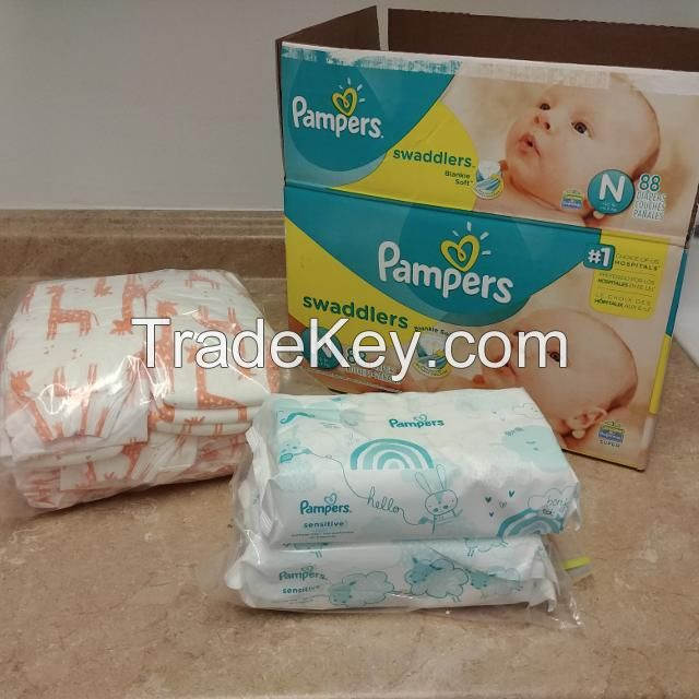 Disposable Baby Diapers and Baby Nappy