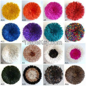 Fabulous feathered juju hats