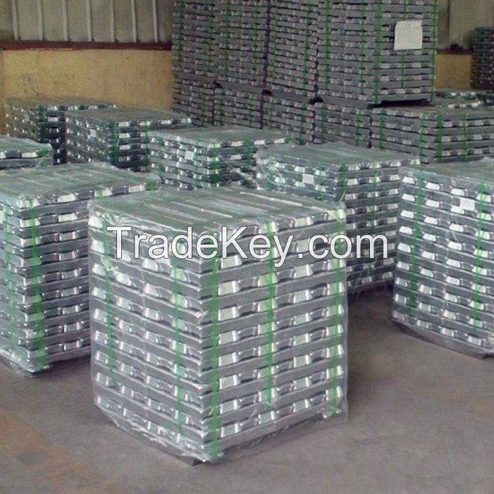 High quality 99.7% A7 Aluminum ingots