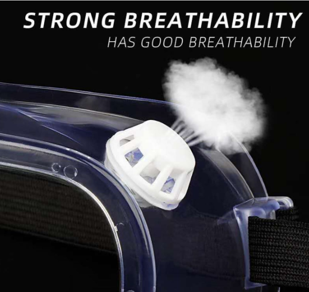 Protective anti fog goggles
