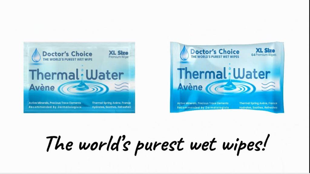 Avene Thermal Water Wet Wipes