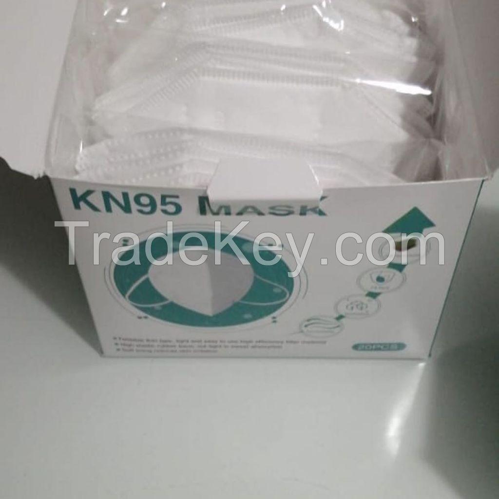 Kn95 face mask 5 layer Non-Woven Fabrics FDA FFP2