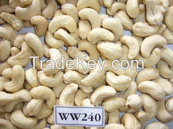 High Quality Cashew Nuts W240/W320 Cashew Nuts