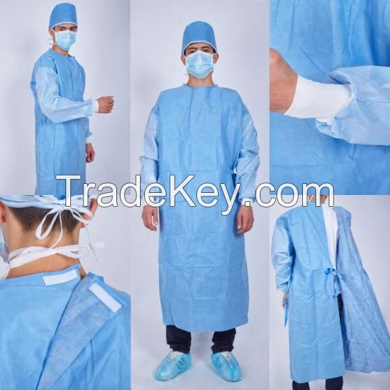 Medical Exam Gowns..Medical Dressing Gowns..Sterile Medical Surgical Gown