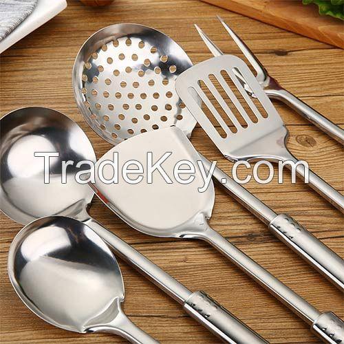 SUS410 Kitchen Utensils 6 Pieces