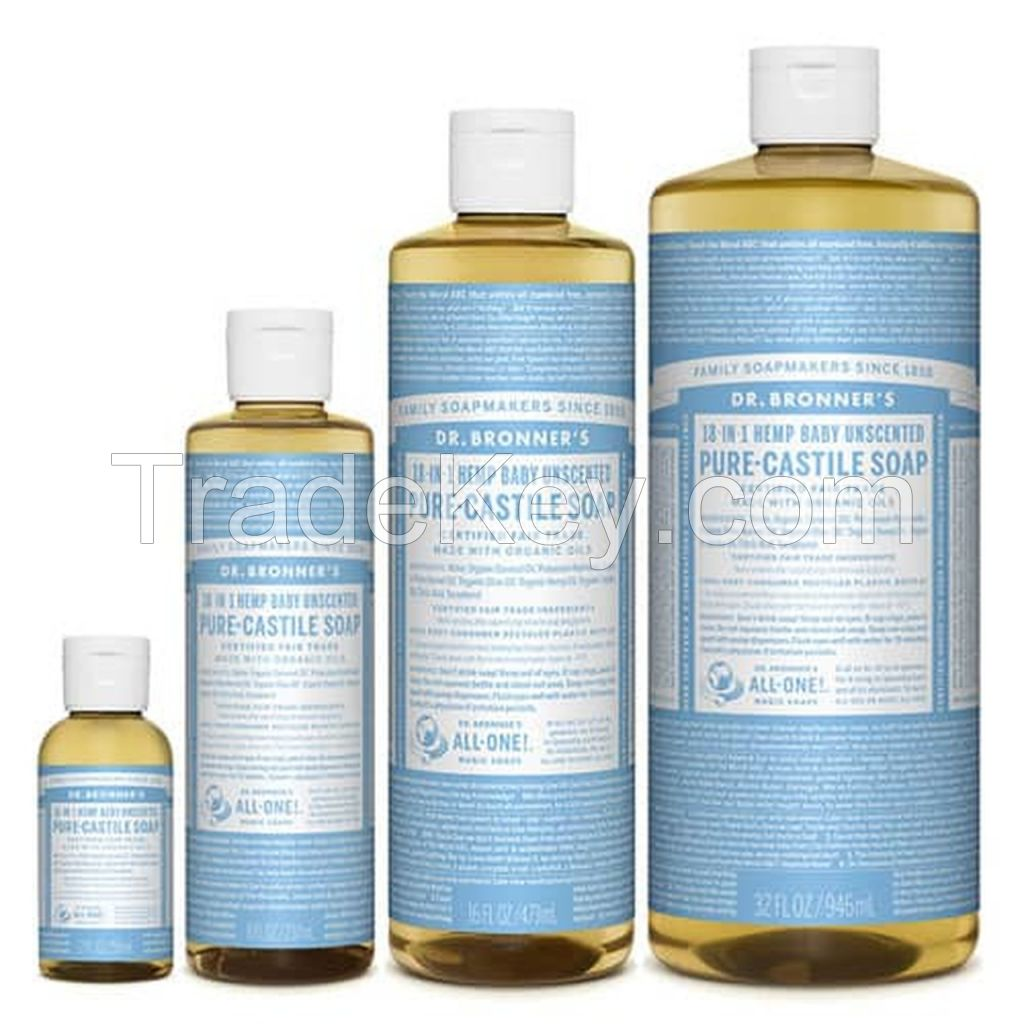 Dr Bronner's Baby Unscented Pure-Castile Liquid Soap 237ml Best Offer