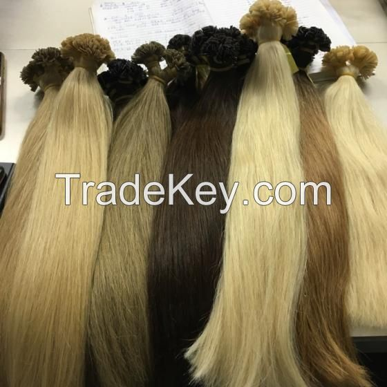 F-tip Hair Extension Best Sell Dark Colors Bombre Newest Products Good Prices