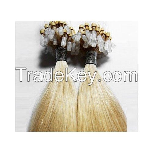 Pre Bonded U V I Flat Tip Hair Extension 1g Stick Tip Cold Fusion Hair 100% Virgin Cuticle Remy Kera