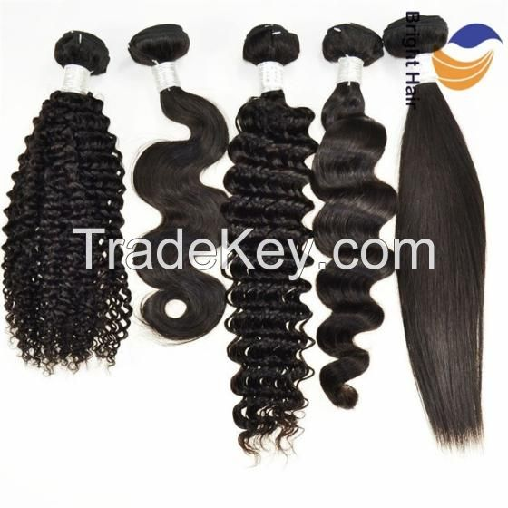 Hot Selling Brazilian Human Remy Hair Weave Extensions