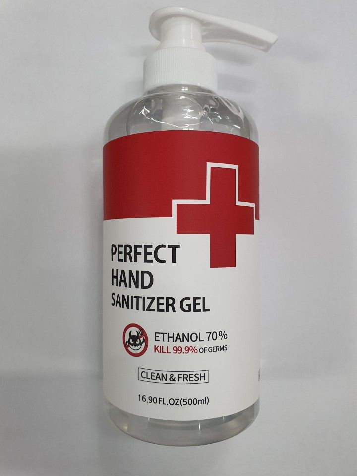 Korean Hand Sanitizer Gel alcohol 70%