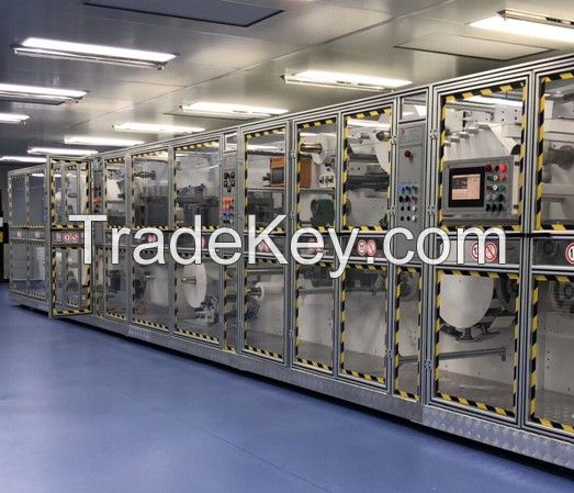 High Quality Full Servo Control Full Function Face Mask Production Line