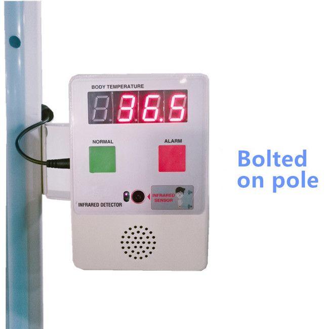 Touchless Body Temperature Detector. Mini Box. Infrared Thermometer