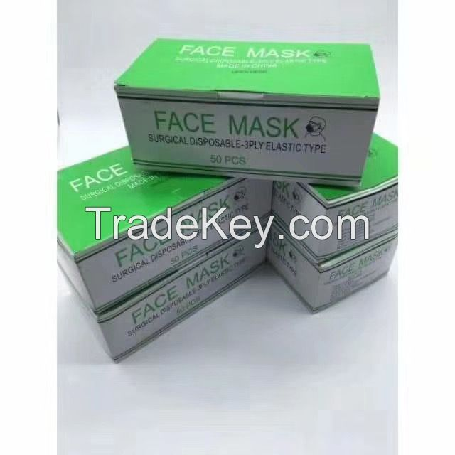 3-PLY MEDICAL FACEMASK