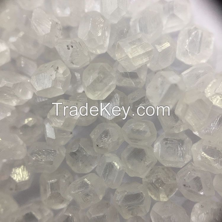 carat up uncut rough White lab grown HPHT CVD synthetic diamond rough diamond