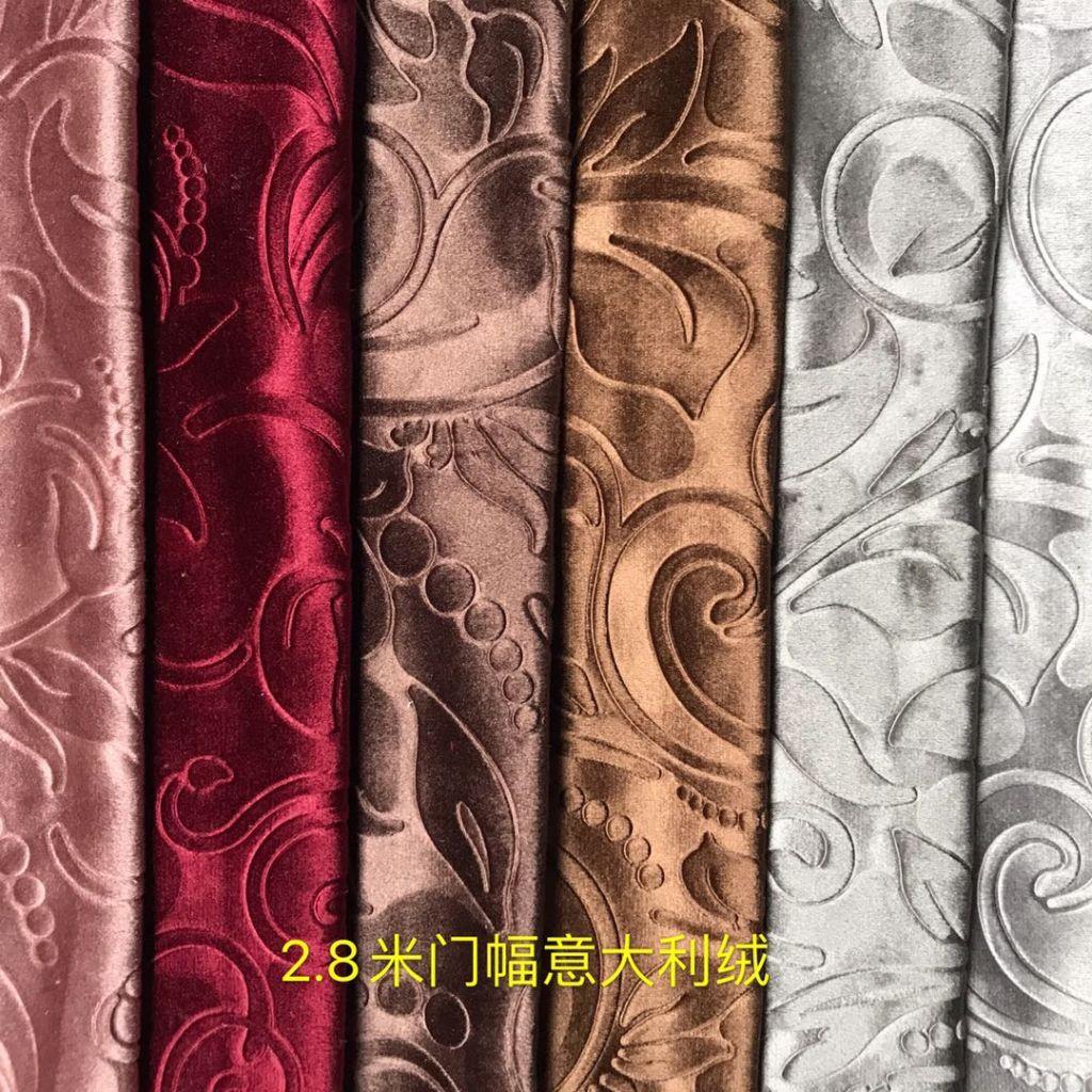 italy velvet curtain