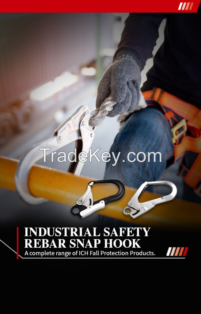 Aluminum Steel  Safety Rebar Snap  Hooks