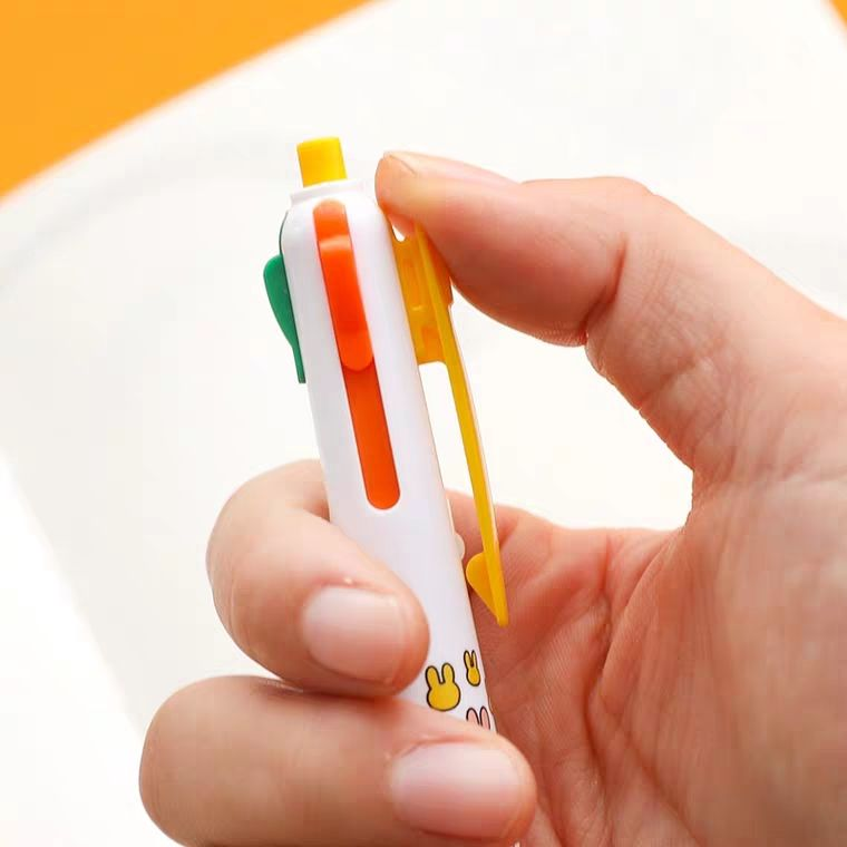 Aiya four-color ballpoint penpress multi-pen in one