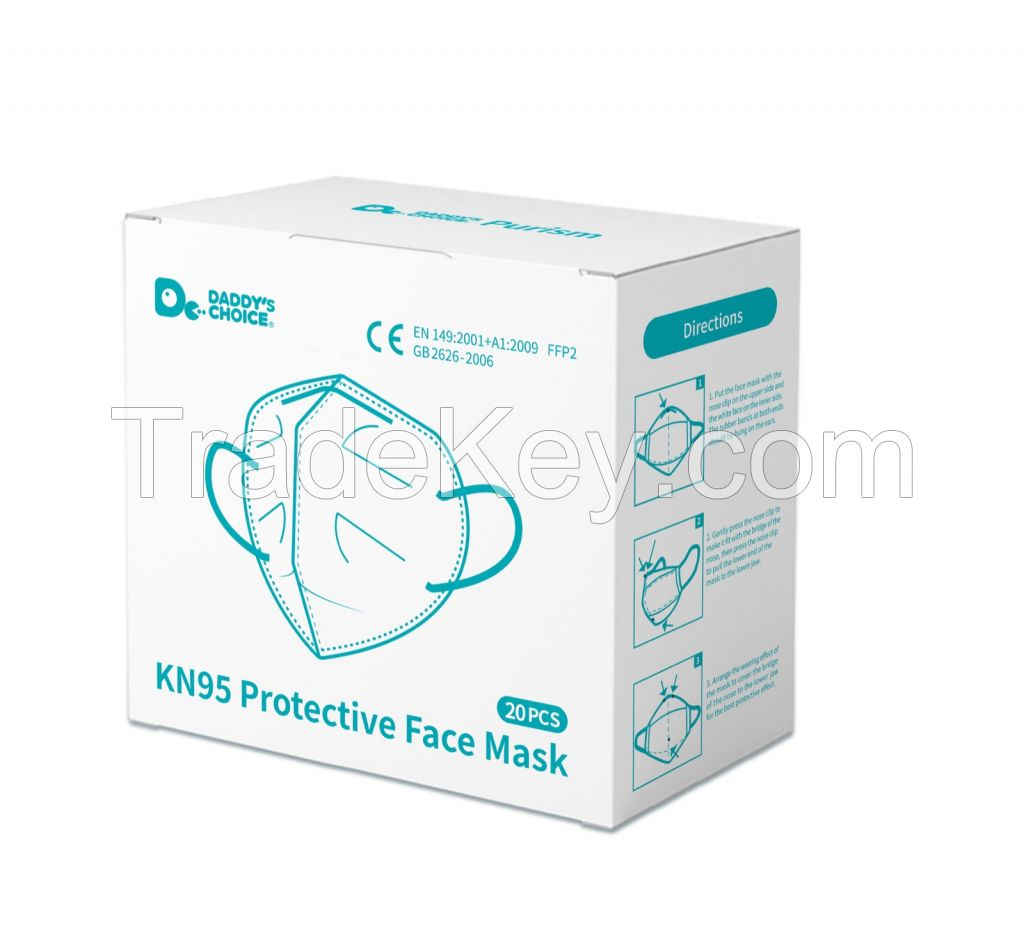 FFP2 KN95 5 Layers mask (Daddys's Choice Purism brand)