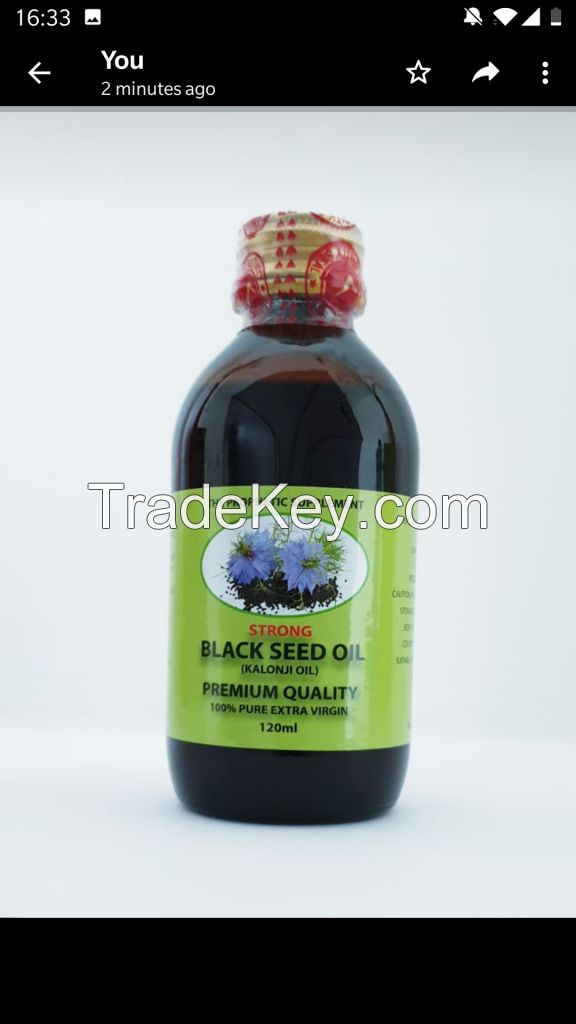 Strong Black Seed oil