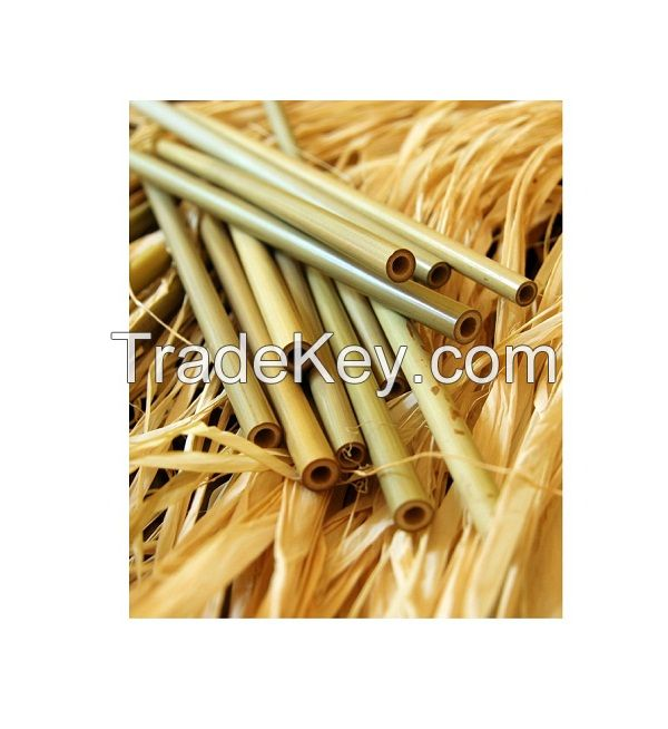 ECO FRIENDLY BAMBOO STRAWS MADE FROM NATURAL FOR DRINKING SUPPLIES