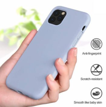 Apple mobile phone case full lens protection liquid silicone anti-collision soft shell