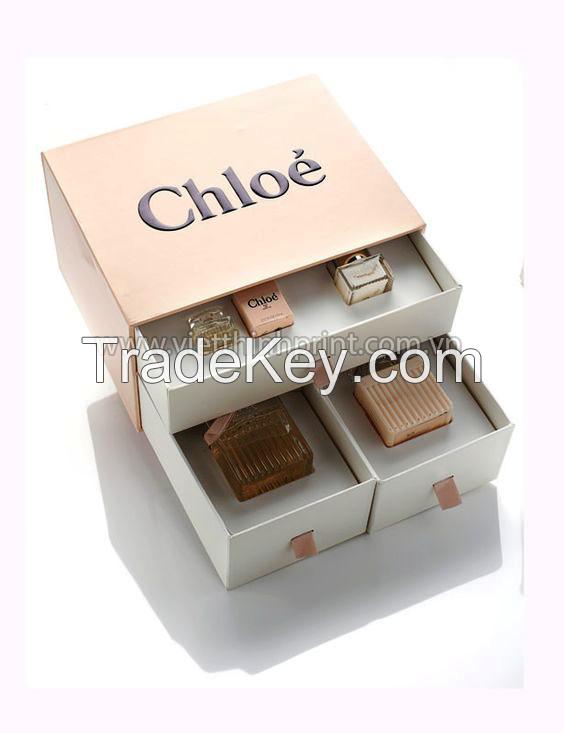 New Design Handmade Paper Cardboard Gift Chest Box