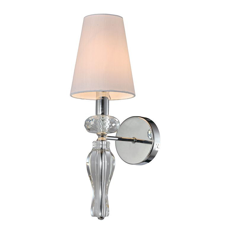 Clear k9 Crystal Wall Lamp