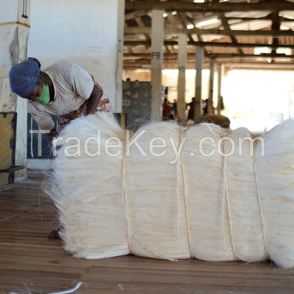 Raw Sisal Fiber, ropes, net, fiber, bamboo, coconut, cotton