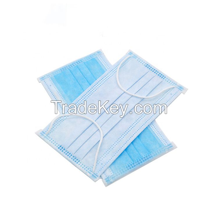 disposable antiviral face masks earloop personal protective equipment