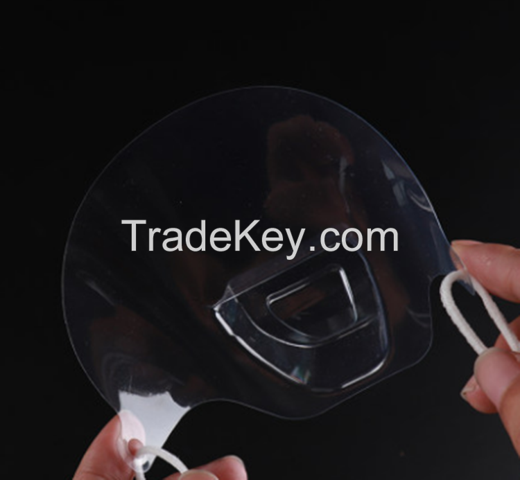 Face Mask Spittle Mouth Shield for Restaurant and Hotel Use