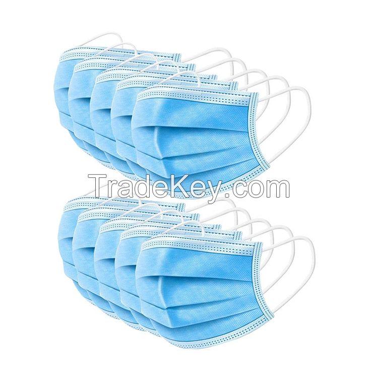 disposable antiviral face masks earloop personal protective equipment