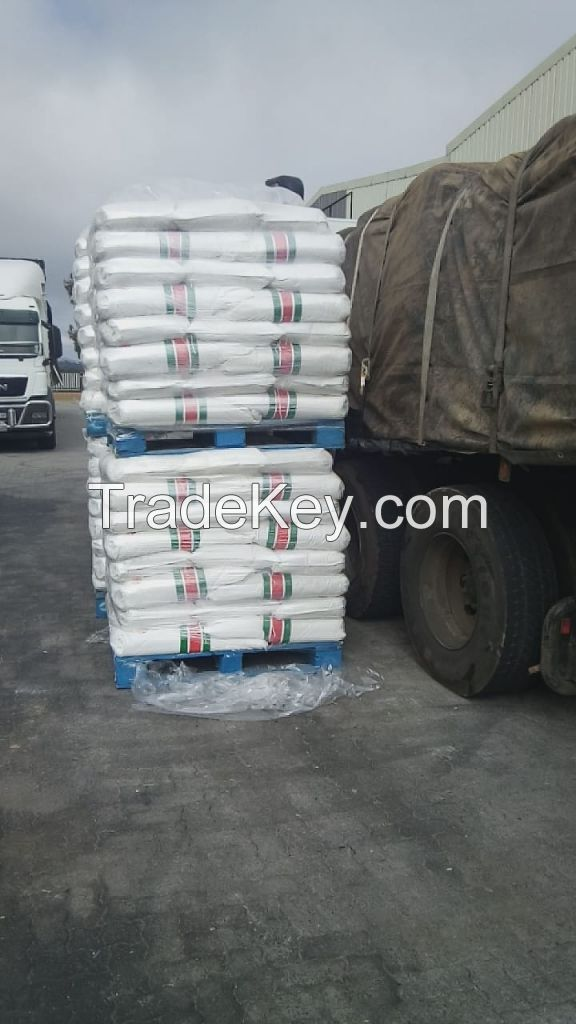 YELLOW 25KG BAGS SUPER MAIZE MEAL