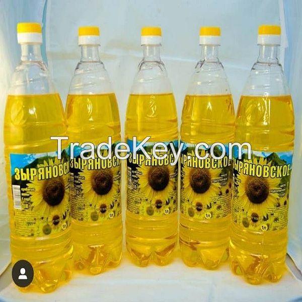 crude degummed sunflower oil.