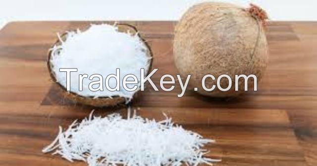 Dried coconut shredded