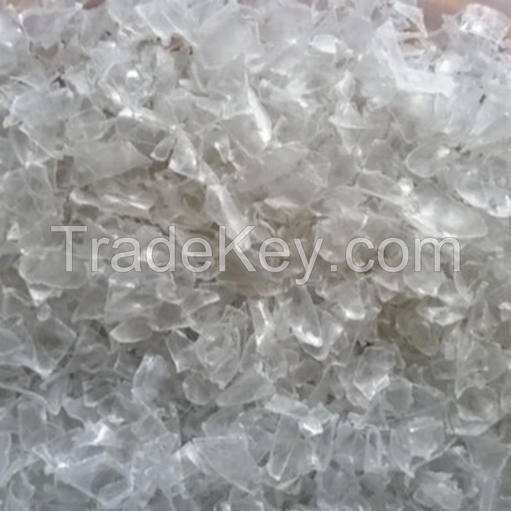 100% clear PET bottle scrap / PET flakes /recycled PET