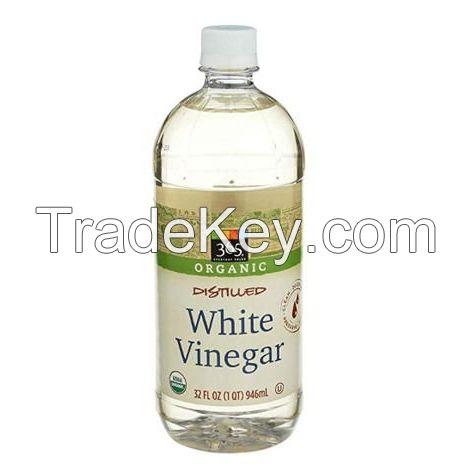 CLEAR WHITE VINEGAR