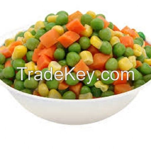 2020 New Crop Top Grade Frozen Mixed Vegetables for Sale