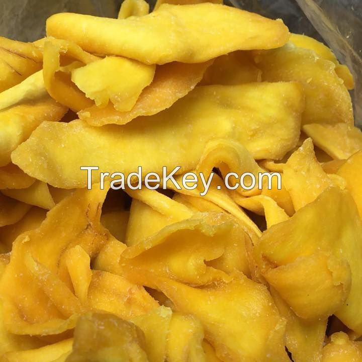 Dried Quality and Natural Soft Mango Slice Fruit