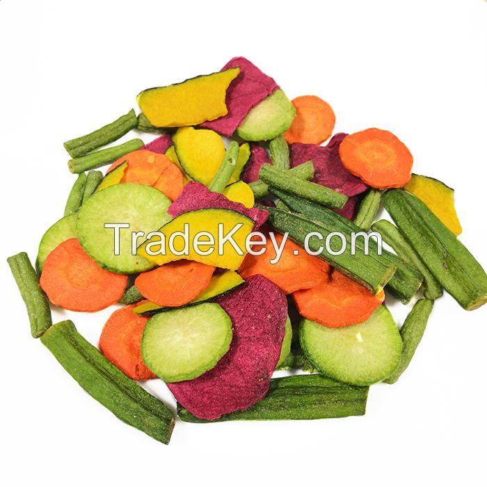 Snacks delicious private label snacks mixed vegetable crisp