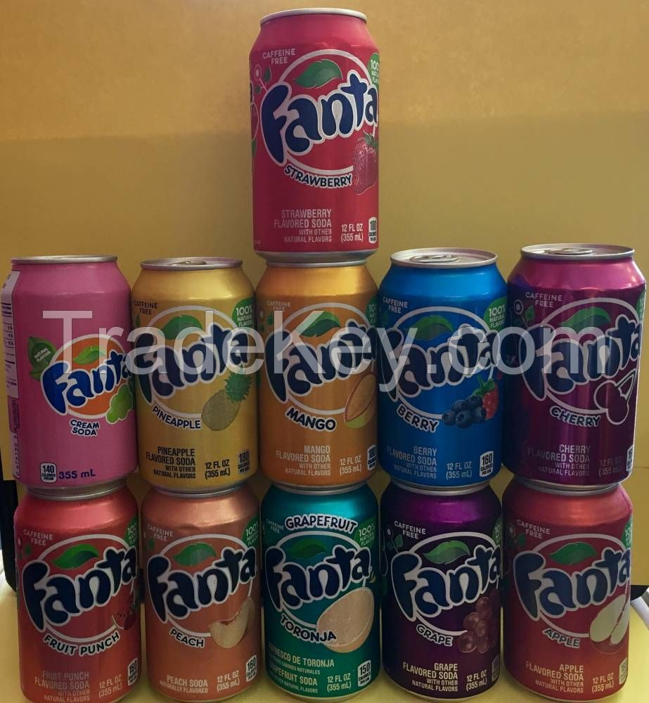 Fanta Carbonated Drink