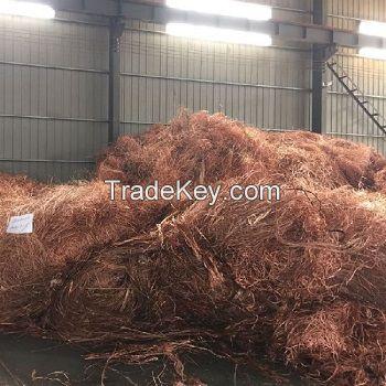 COPPER WIRE SCRAP/Copper Scrap, Copper Wire Scrap, Mill berry Copper 99.9%