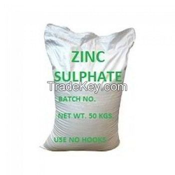 zinc sulphate heptahydrate 21% agricultural grade